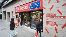 Nuevo supermercado Eroski en Bilbao.