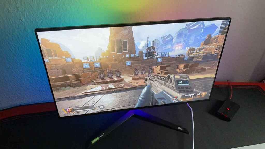 El LG 27GN950 ofrece una imagen fluida en todo tipo de juegos