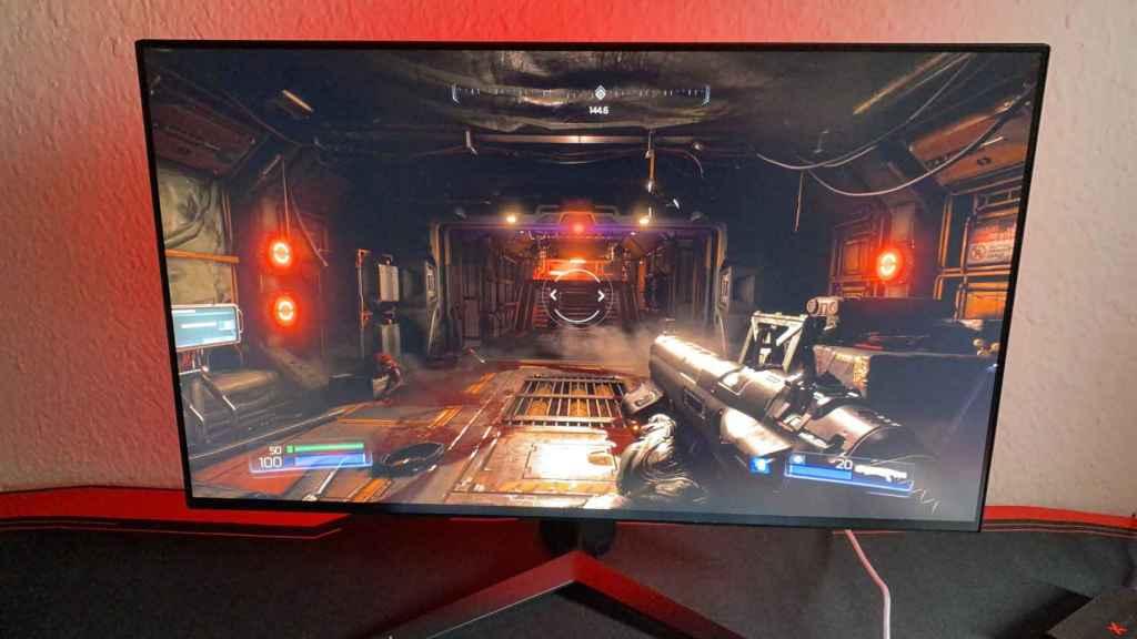 El nuevo monitor de LG es ideal para juegos rápidos de disparos