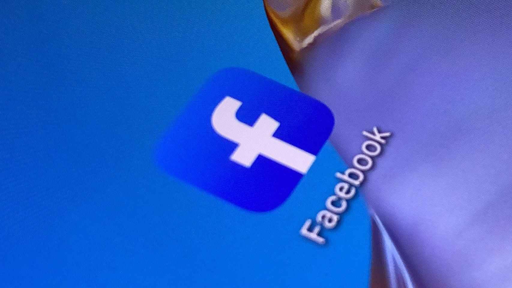 La aplicación de Facebook, la mayor red social del mundo