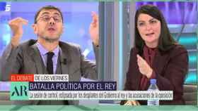 Monedero y Olona en 'El programa de Ana Rosa'.