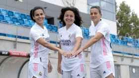 Las capitanas del Real Madrid Femenino