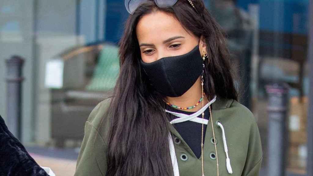 Gloria Camila ha vuelto a negar su supuesto distanciamiento con Rocío Flores.