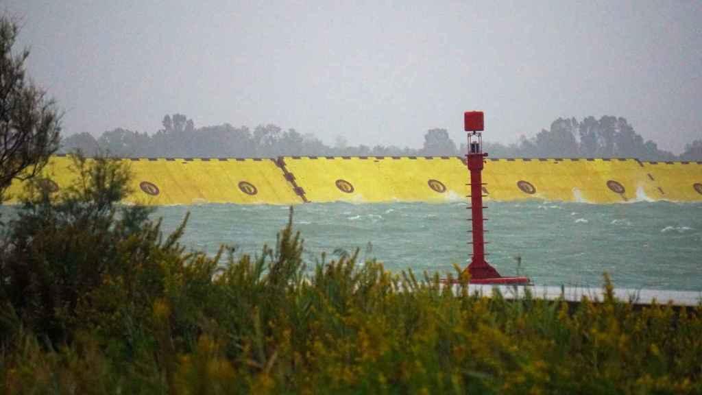 Sistema MOSE que evitará inundaciones en Venecia