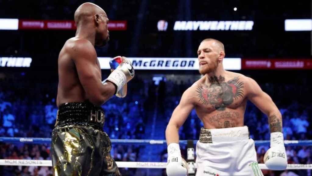 Combate entre Floyd Mayweather y Conor McGregor