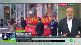 López, durante la entrevista en 'Liarla Pardo'.