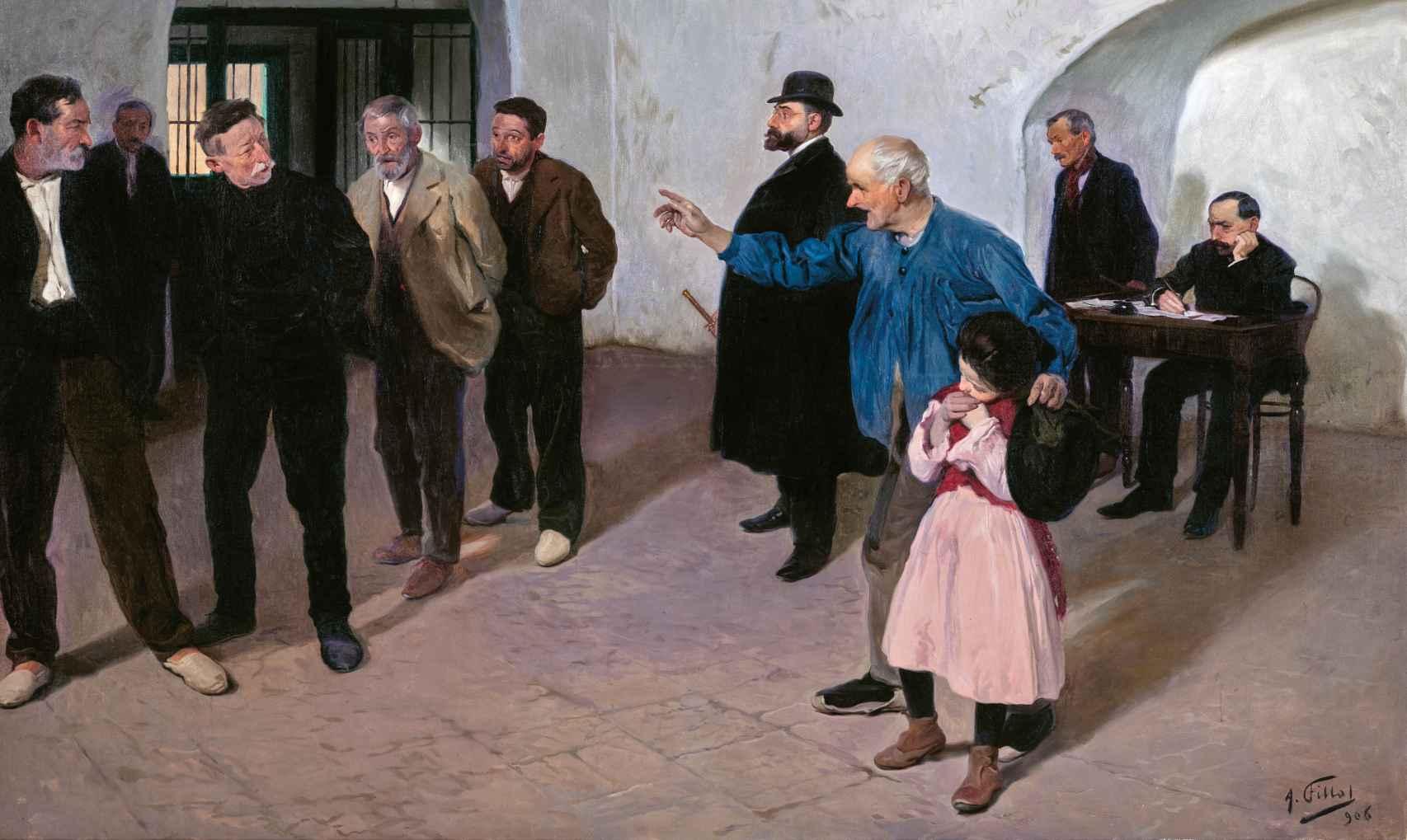 'El sátiro', de Antonio Fillol.