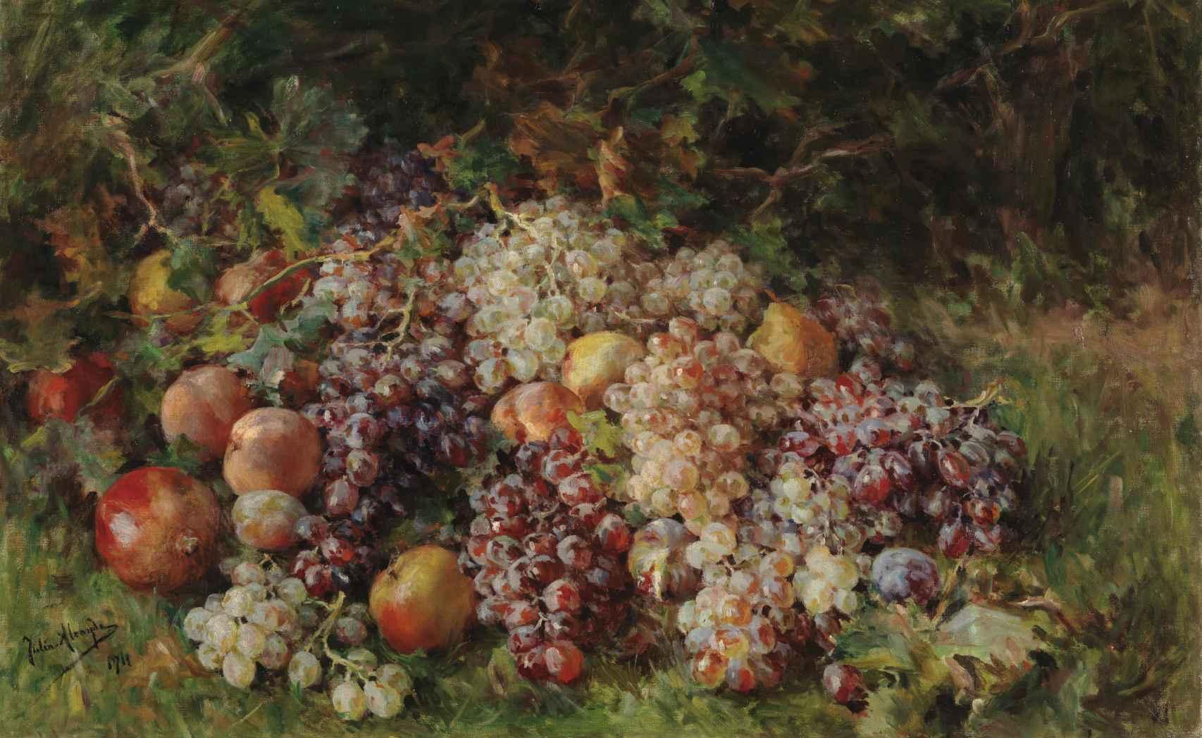 'Frutas', de Julia Alcayde Montoya.