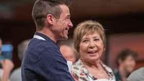 Juan José Ballesta y Celia Villalobos. (RTVE)