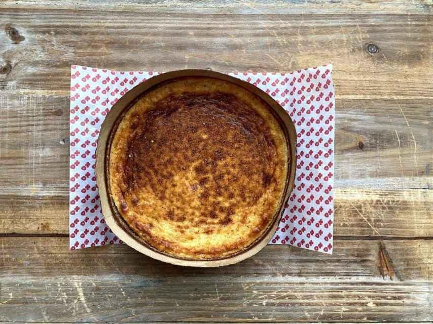 Tarta de queso con pimienta de Sichuán