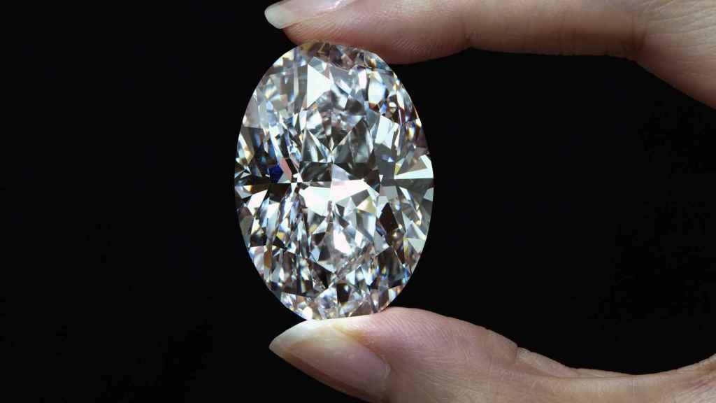 Diamante Victor 10239 en una imagen de la casa se subastas Sotheby's.