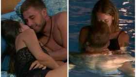 Tom y Mayka con sus respectivos tentadores en 'La isla de las tentaciones'.