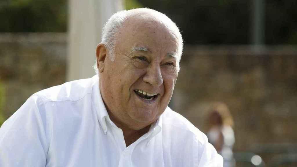 Amancio Ortega, accionista relevante de Enagás.