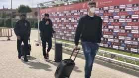 La llegada de Adama Traoré junto a Ceballos y Kepa