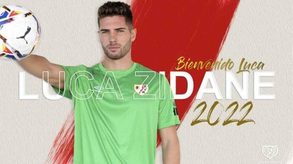 Luca Zidane, nuevo jugador del Rayo Vallecano