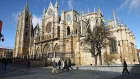 La Catedral de León, insignia de la ciudad.