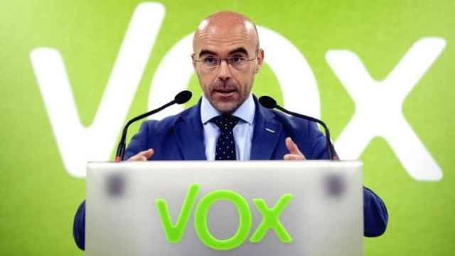 El portavoz del Comité de Acción Política de Vox, Jorge Buxadé.