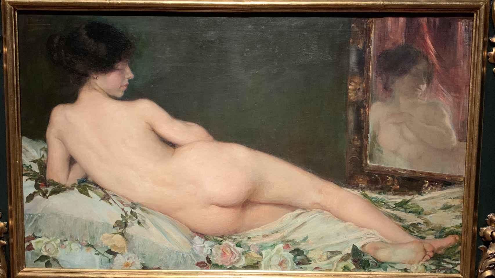 'Desnudo femenino', el lienzo que consagró y hundió a Aurelia Navarro.