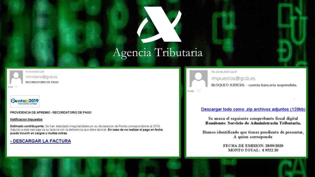 Bloqueo judicial: así es el nuevo 'phishing' que se hace pasar por Hacienda