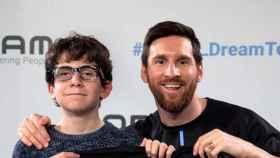 Pere Ribas y Leo Messi