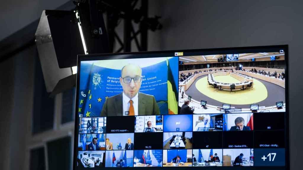 El Ecofin de este martes ha sido por videoconferencia por la segunda ola de Covid-19