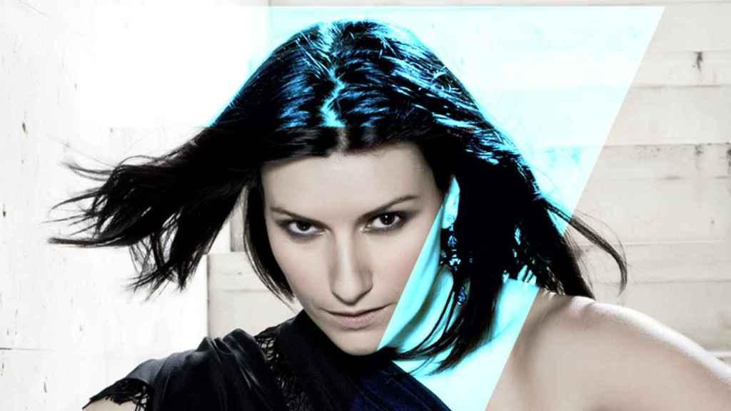 Laura Pausini, en una imagen promocional de 'SEVEN'