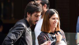Nuria Marín junto a su pareja sentimental, JuanLu De Paolis, en una imagen tomada en 2016.