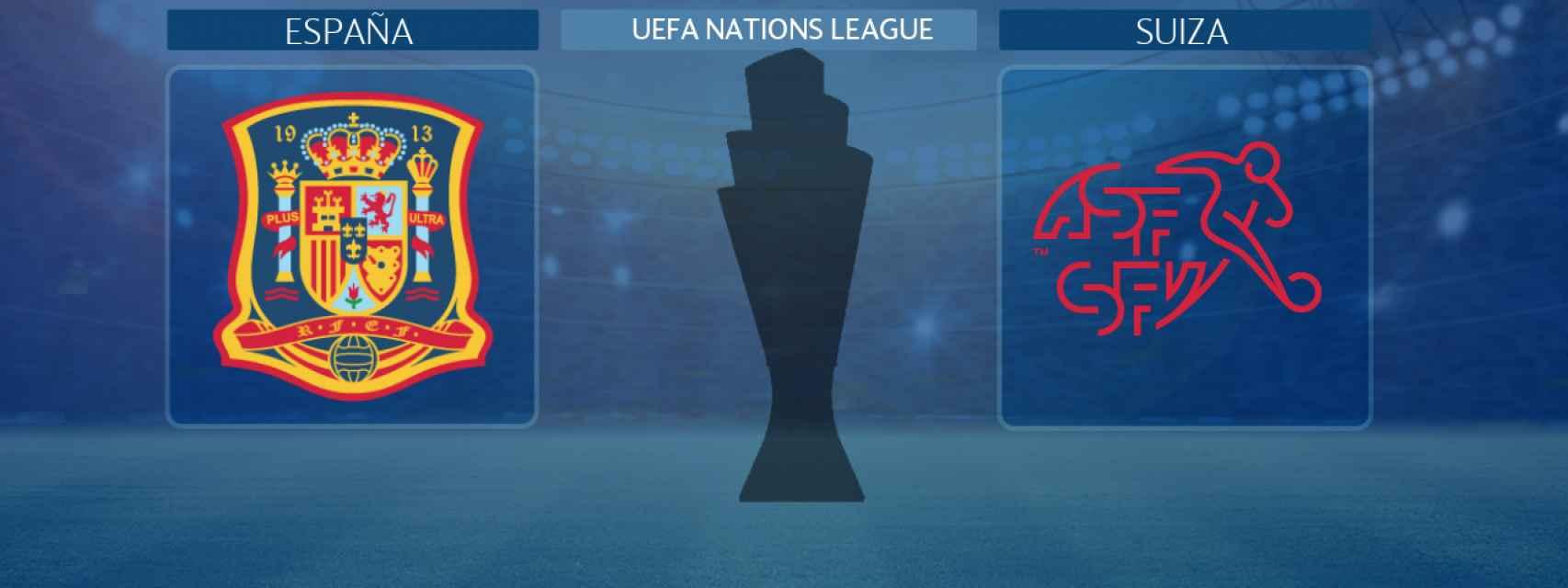 España - Suiza, partido de la UEFA Nations League