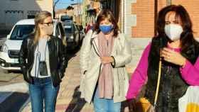 La diputada regional Lola Merino visitó este lunes Villarrubia de los Ojos (Ciudad Real)
