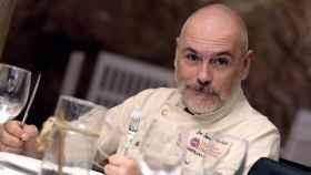 El chef Jose Ignacio Herráiz del restaurante Raff en Cuenca