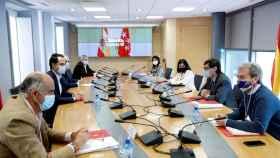 Reunión del Grupo Covid-19 para analizar el estado de la pandemia en la Comunidad de Madrid.