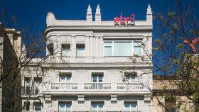 Sede de EBN Banco en el Paseo de Recoletos, Madrid.