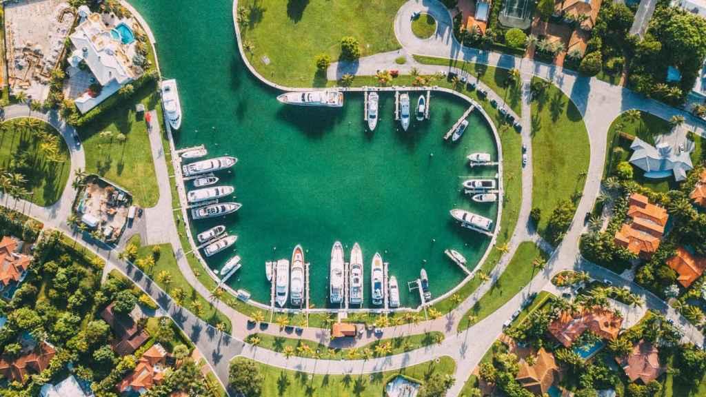 Urbanización de Miami, Florida.