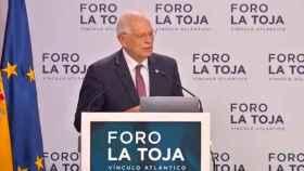 Josep Borrell, en el Foro de La Toja.