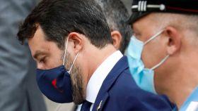 Matteo Salvini, exministro del Interior de Italia y líder de la Liga.