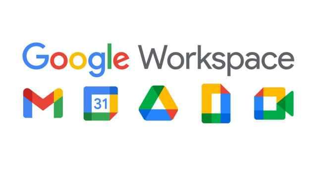 Nuevo logo de empresa de Google Workspace.