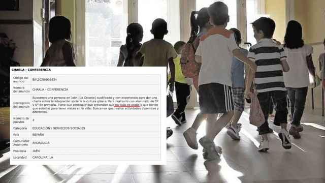 Un  colegio de Jaén busca a un monitor para enseñar que no todo es gratis