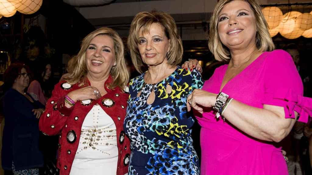 Carmen Borrego, María Teresa Campos y Terelu Campos reciben duras críticas a través de las redes sociales.