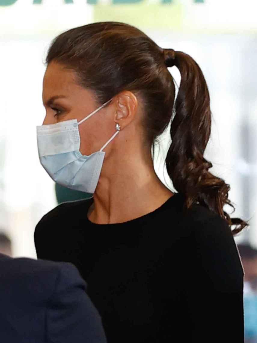 La coleta se ha convertido en su peinado fetiche del 2020.