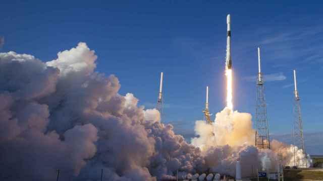 Lanzamiento satélites de Starlink