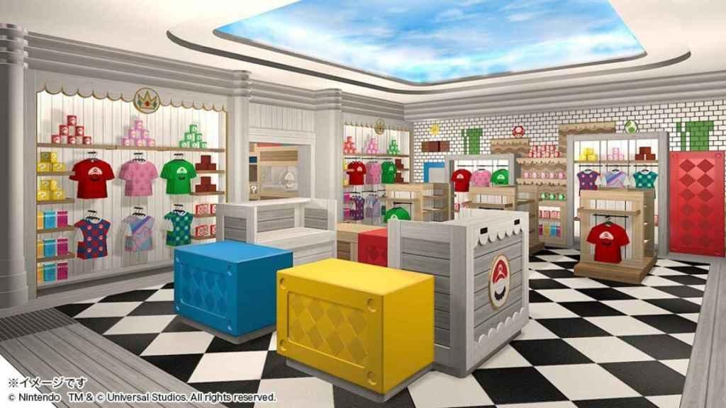 Parque de Super Mario.