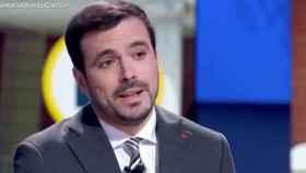 Alberto Garzón, en La Hora de La 1 de TVE