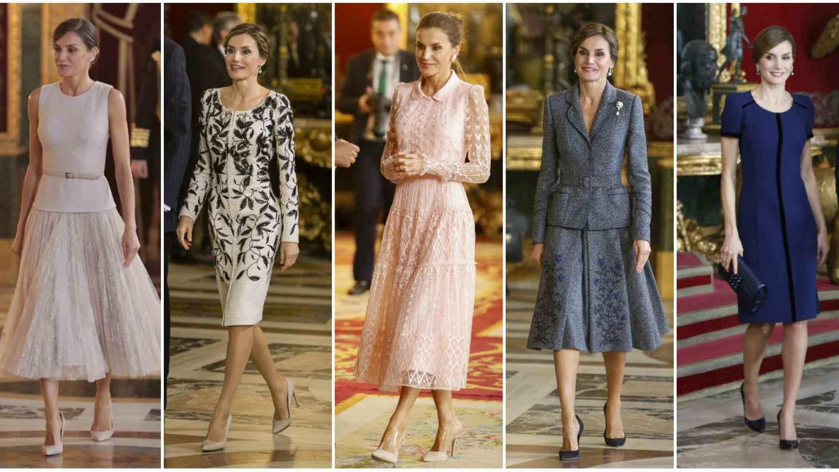 La reina Letizia ha acudido al desfile de la Fiesta Nacional a lo largo de 15 años.