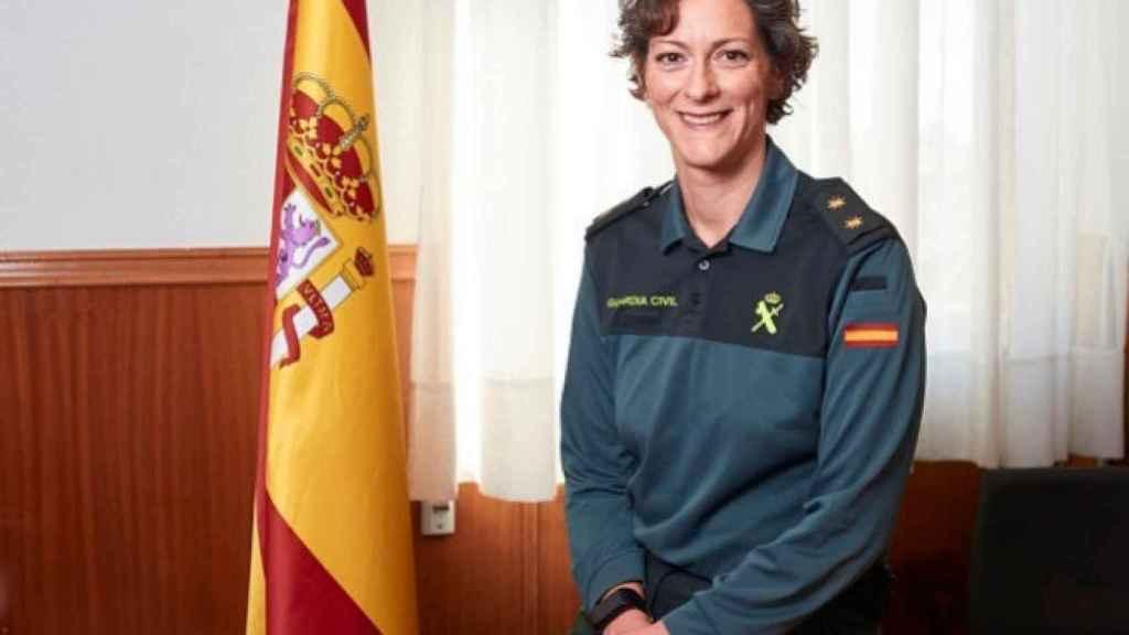 La segunda teniente coronel, Dolores Gimeno.
