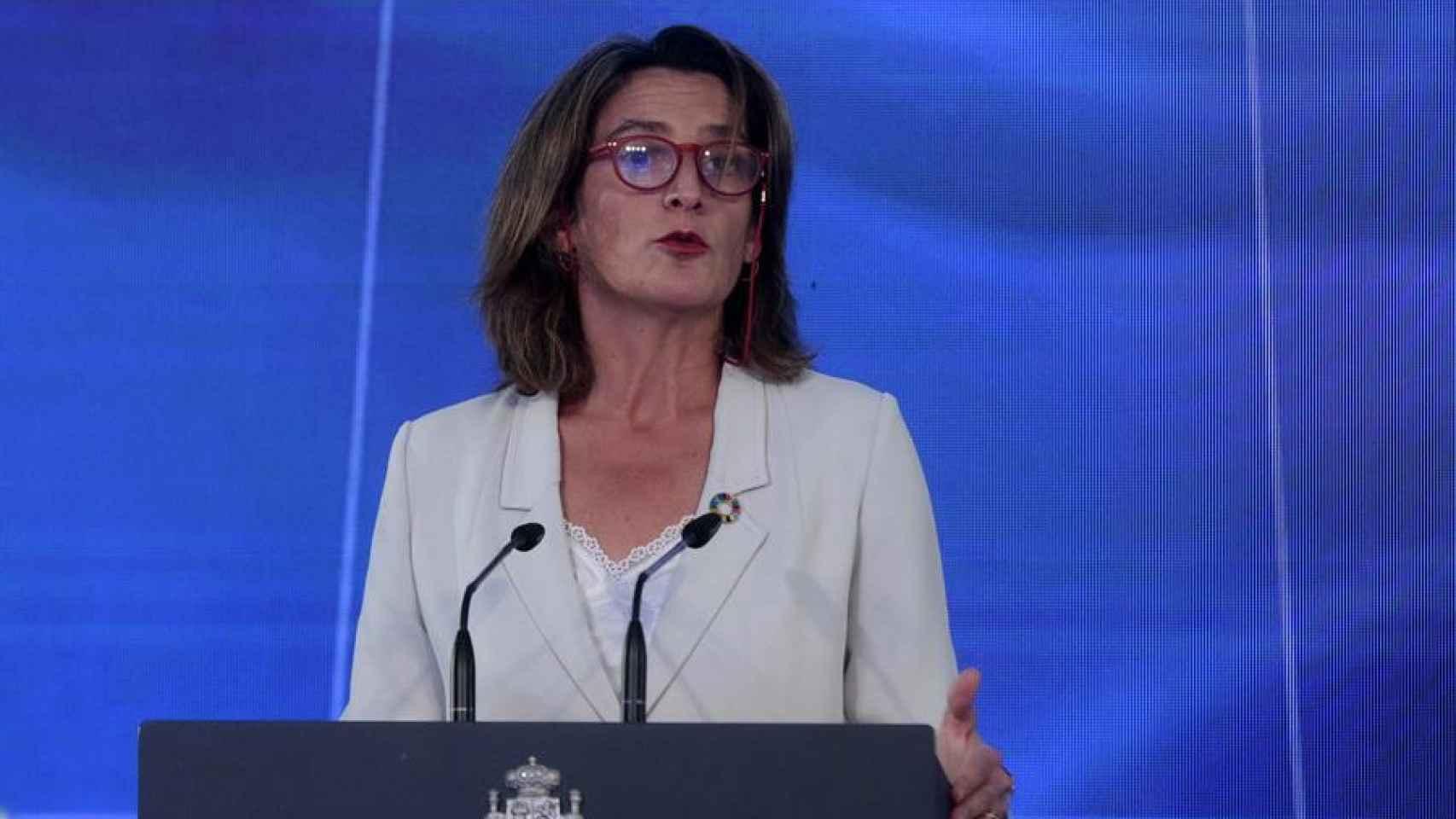 Teresa Ribera, vicepresidenta cuarta y Ministra de Transición Ecológica.