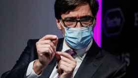 Salvador Illa, ministro de Sanidad.