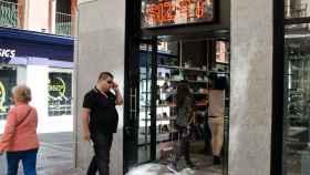 Una tienda de zapatos de Madrid en una imagen de archivo.