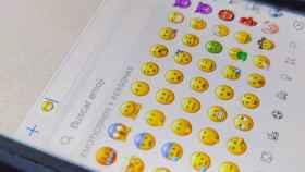 Emoji de la mascarilla en un iPhone