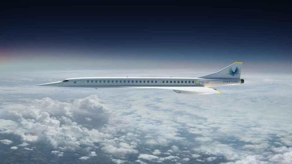 Boom Overture, futuro avión supersónico