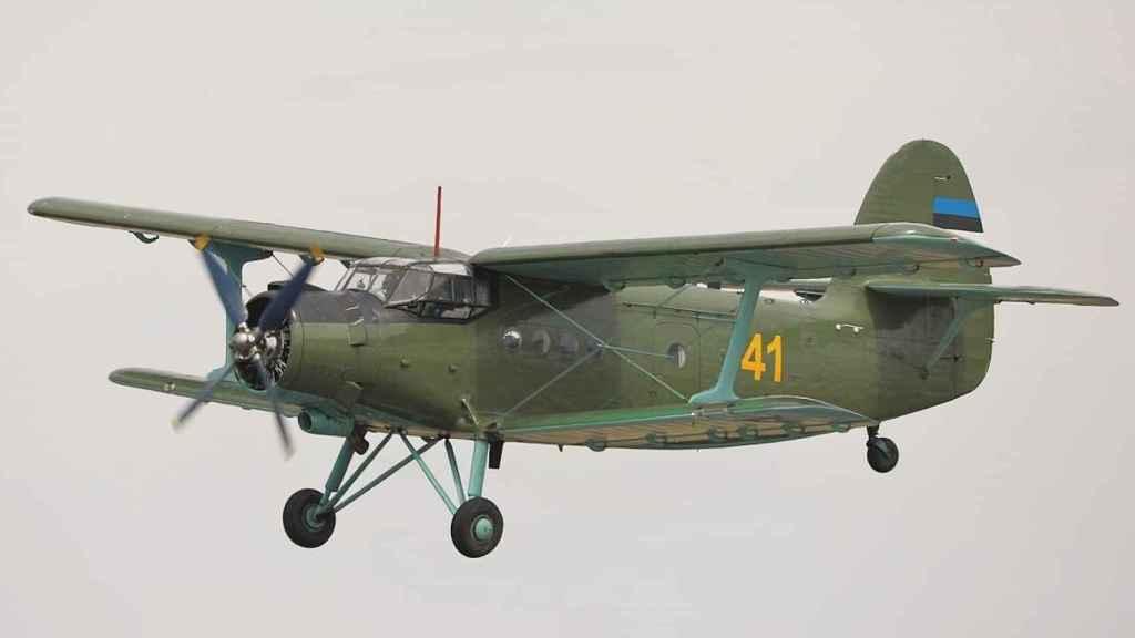 Antonov An-2 de la fuerza aérea de Estonia en 2008